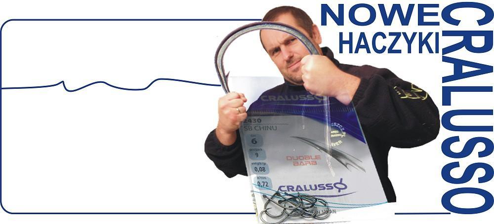 NOWOŚĆ. Haczyki firmy Cralusso.