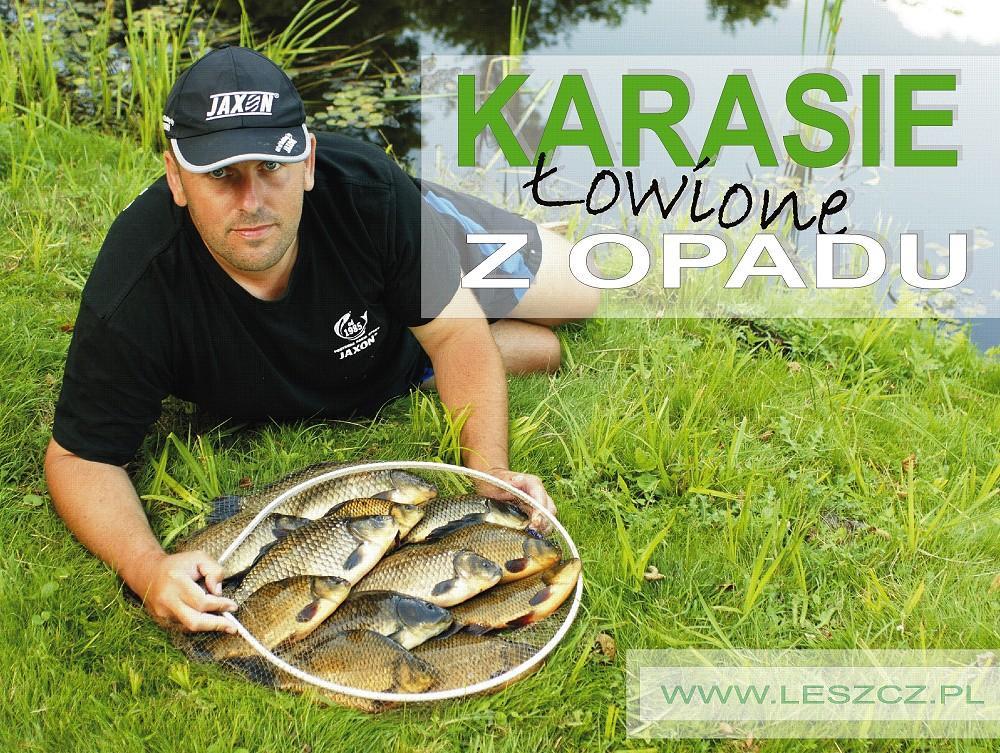 www.leszcz.pl - Karasie łowione z opadu.