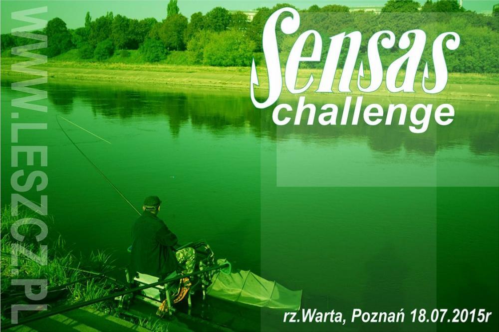 Sensas Challenge 2015, Poznań, rzeka Warta, 18.07 2015r.