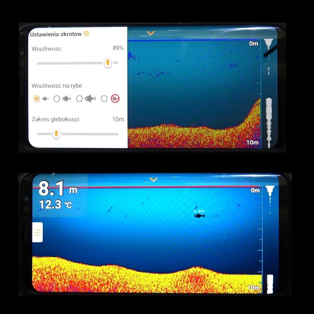 Echosonda Jaxon Mobile Sonar AK-EC301