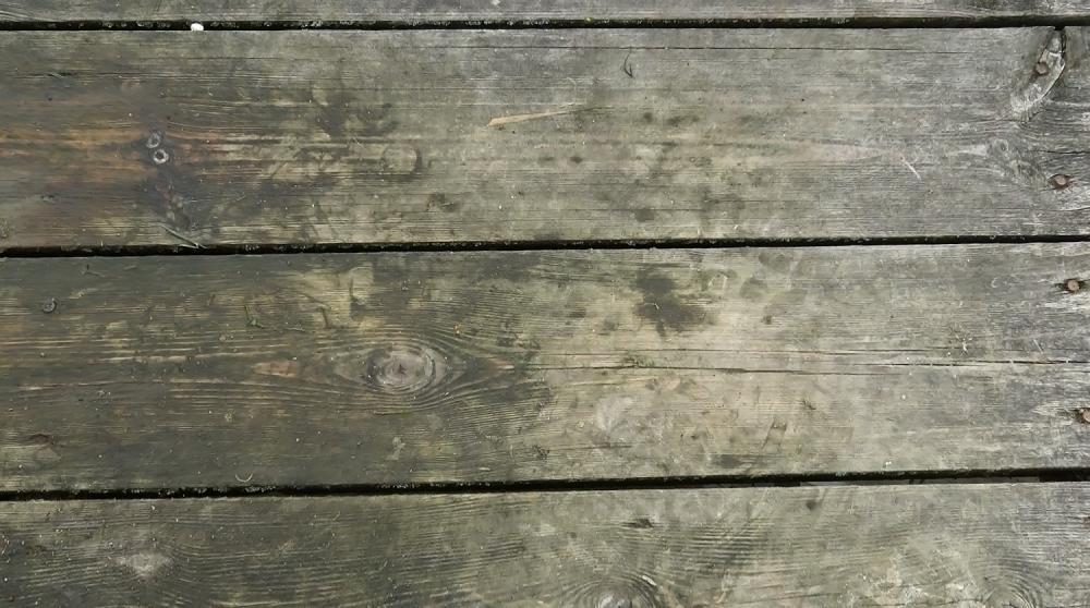 Podpórka na drewniany pomost