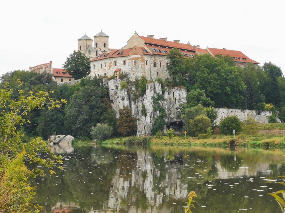 Klasztor nad Wisłą w Tyńcu